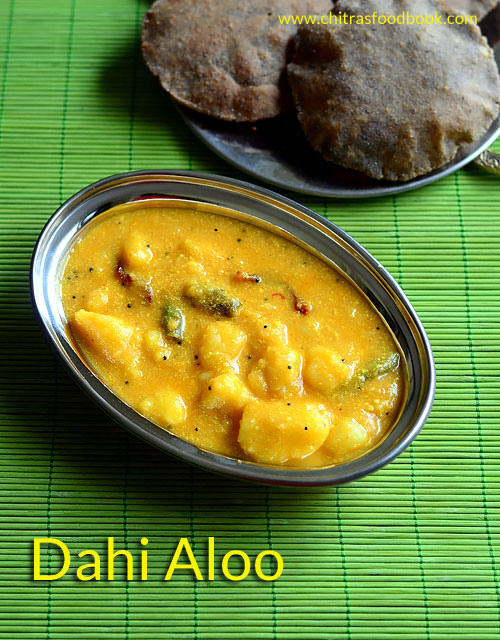 Dahi Aloo Recipe – Dahi Wale Aloo Recipe For Fast/ Navratri Vrat