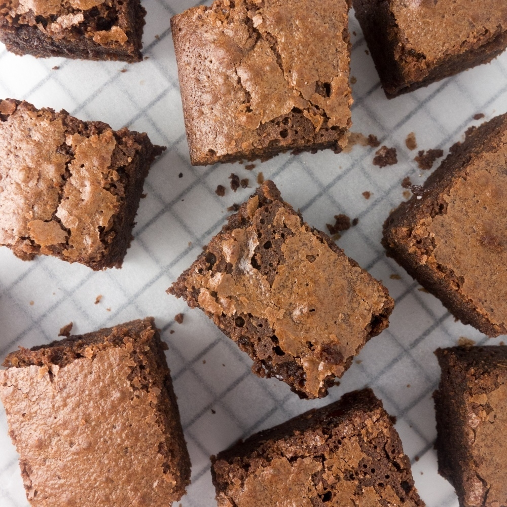 Ultimate Chewy Chocolate Brownies