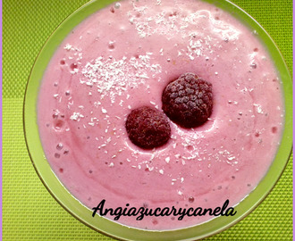 Smoothie  de Frambuesas en Thermomix