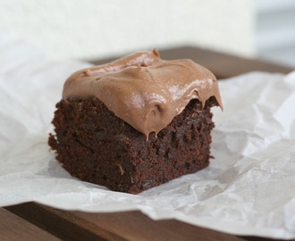 Weil's auch im Sommer mal regnet: {Triple Chocolate Brownies}