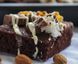 {sweet life} Rocky Road Brownies on Route 66