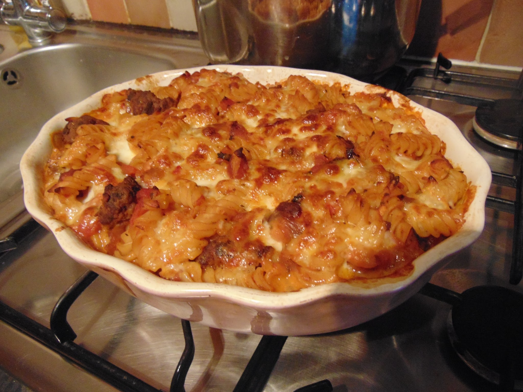 Meatball Pasta Bake Recipe...
