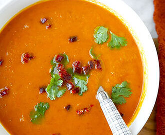 Sweet Potato Chorizo Soup