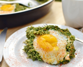 Egg Spinach Quinoa Breakfast
