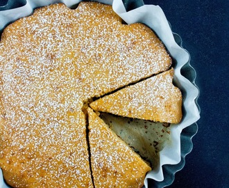 Torta integrale con yogurt e miele RdA / Whole wheat flour & honey RdA cake recipe