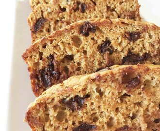 Healthified Pumpkin Chocolate Chip Banana Bread
