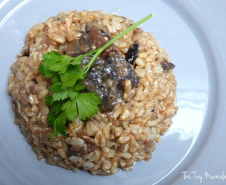 Vegetarian Wild Mushrooms Risotto