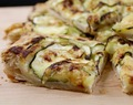 Courgette & cheese pie