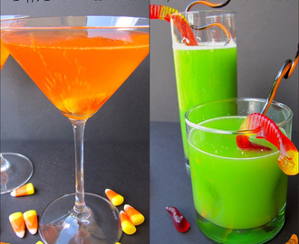 Candy Corn Cordial and Swamp Juice. Say what?