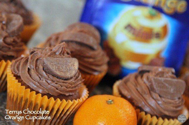 Terrys Chocolate Orange CupCakes
