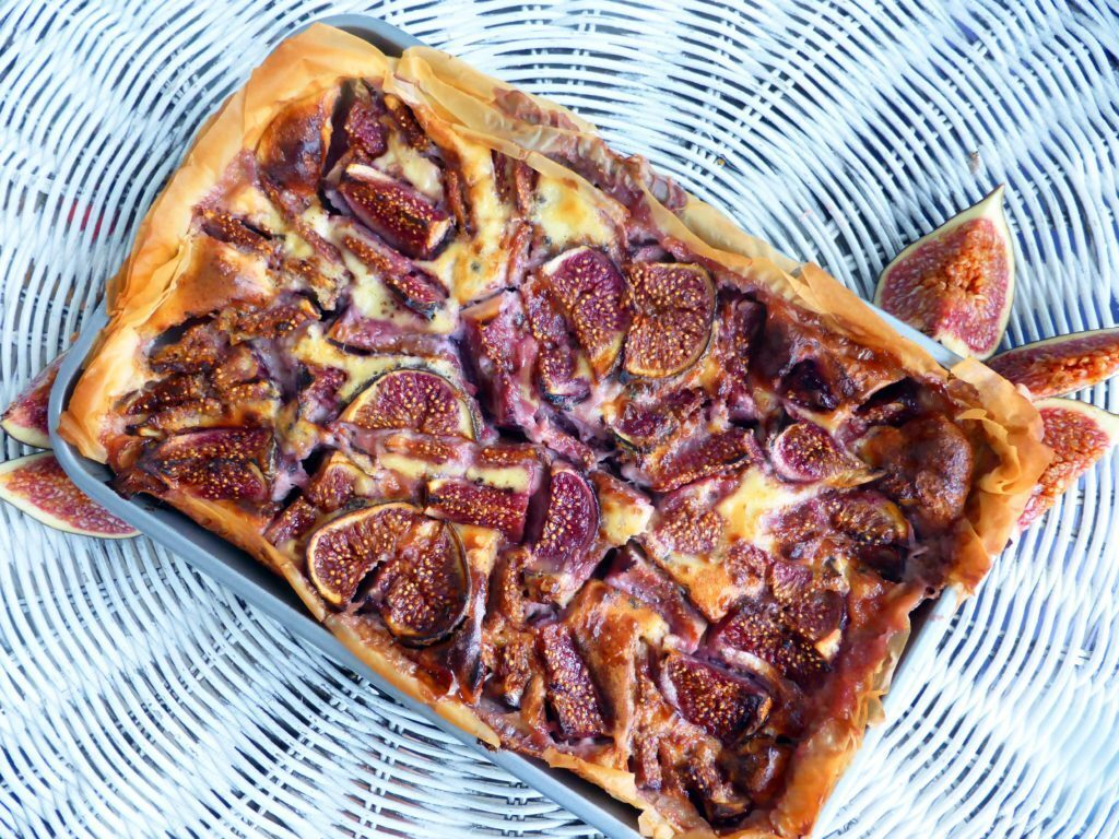 Fig Filo Tart