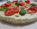 Cheesecake al pesto