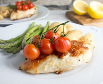 Easy Lemon Parmesan Chicken