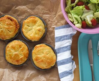Nueva Zelanda: Beef and Cheese Pies
