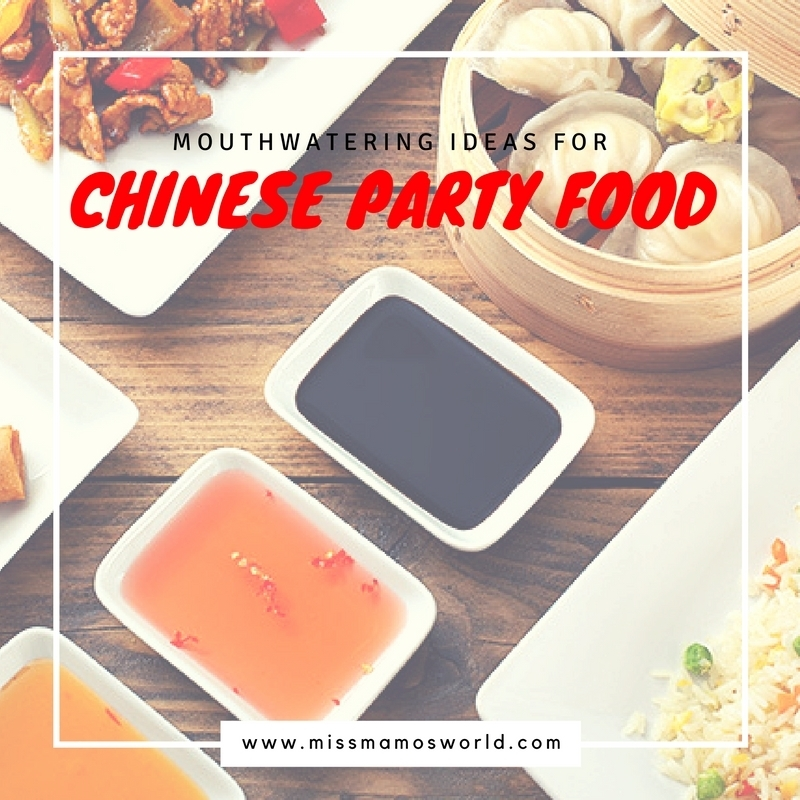 Chinese Party Menu Ideas
