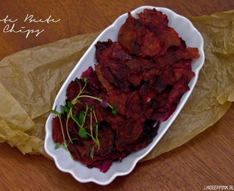 {Snack-Rezept} Rote Beete Chips