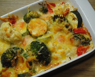 Healthy One Dish Veggie Bake Recipe