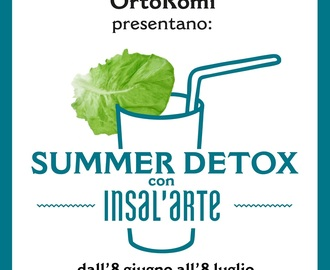Summer Detox con Insal'Arte , una raccolta light per l'estate