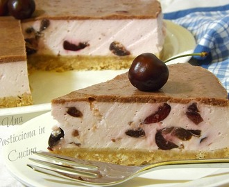 Cheesecake alle Ciliegie e Yogurt Greco