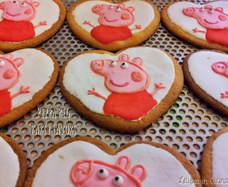 Biscotti Peppa Pig - Birthday Party Favors