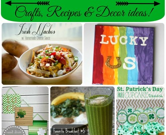 50+ St. Patrick's Day crafts, recipes & decor ideas!