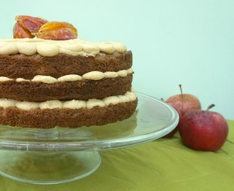 Caramel Apple Cake Recipe Using The Kenwood Pattissier
