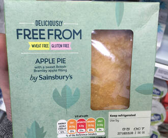Deliciously Free From Sainsburys – Gluten Free Chilled Food & Dairy Free Cheeses!