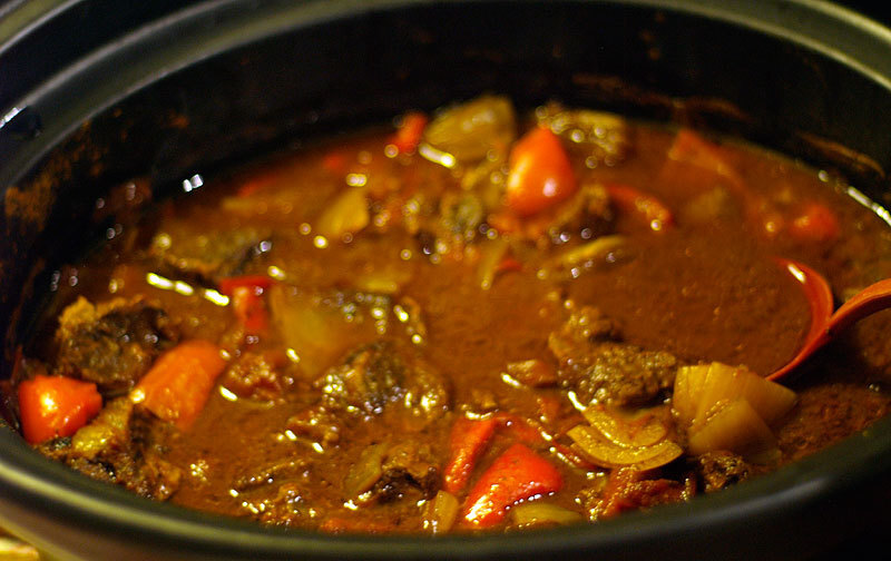 Gulasch i Crock Pot