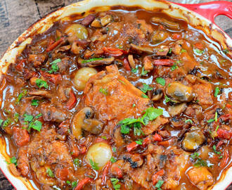 Burgundy Chicken Casserole