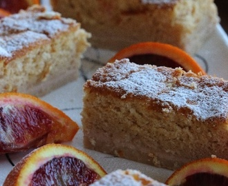 Torta magica alle arance rosse – Blood orange magic cake