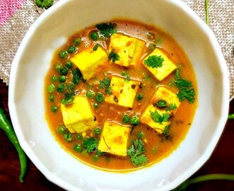 Matar Paneer Recipe | How to Make Matar Paneer