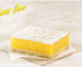 Lemon Bars / Zitronen Riegel