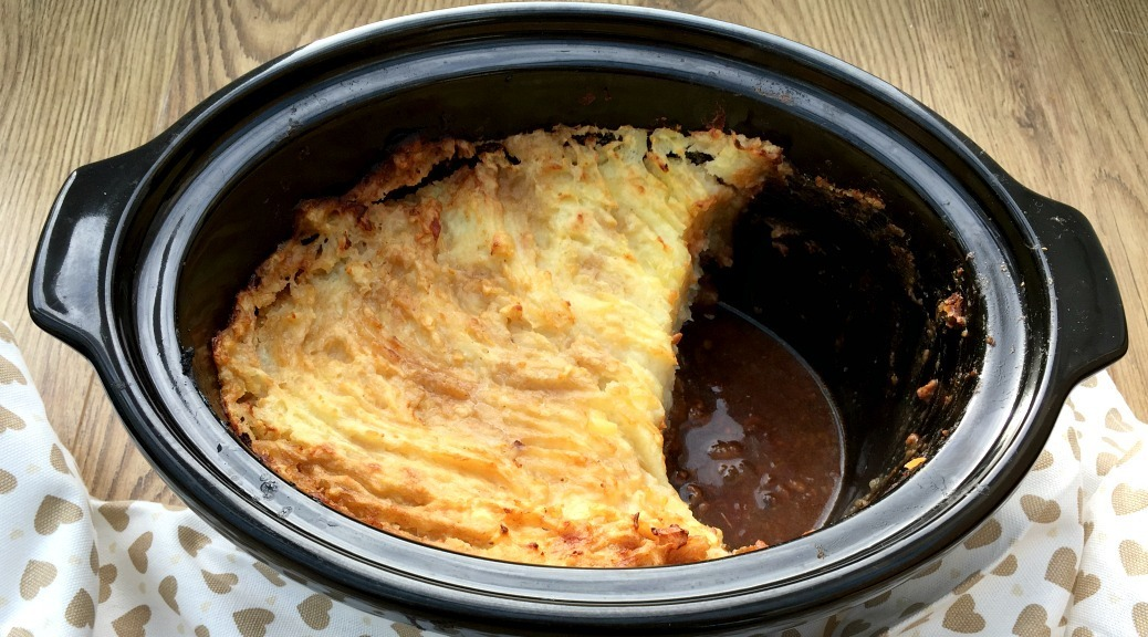 Comforting Slow Cooker Cottage Pie
