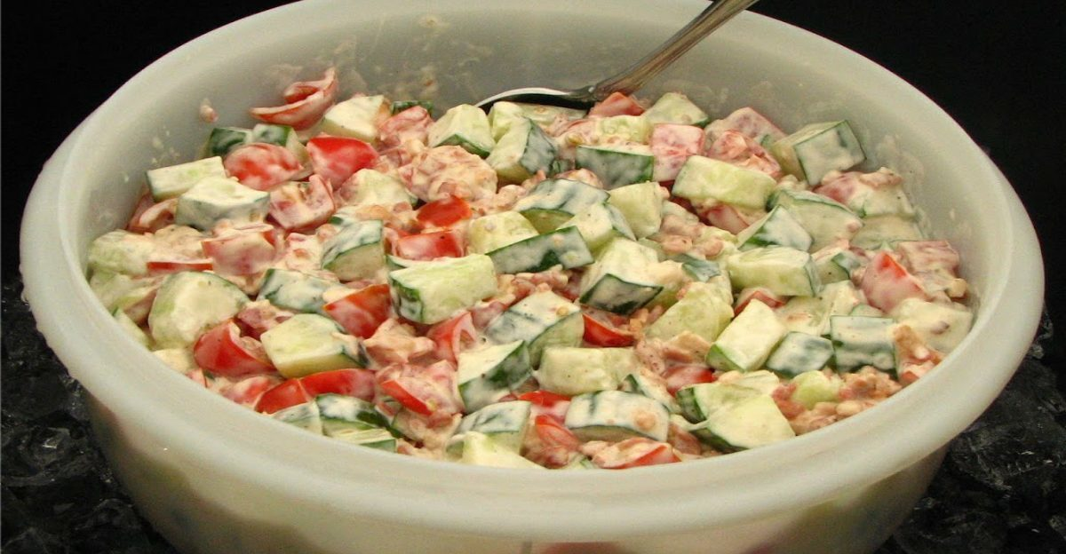 This 5-Ingredient Salad Will Have You doing Back flips Around The Campground