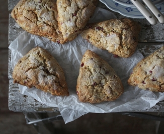 Pomegranate Scones!