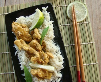 Pollo thai curry-lime