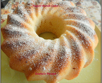 Yogurt Bundt Cake  #BundtBakers