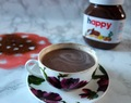 Nutella hot chocolate with cinnamon