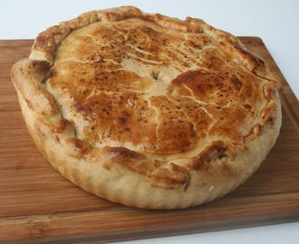 Easy Meat & Onion Pie