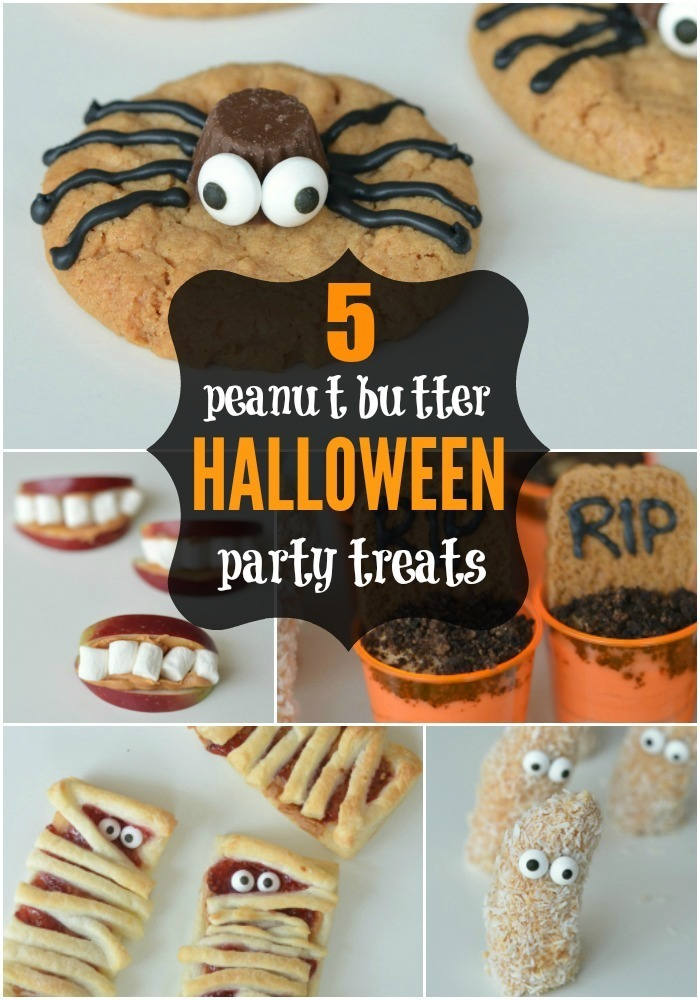 5 Halloween Party Treats {using SKIPPY peanut butter}