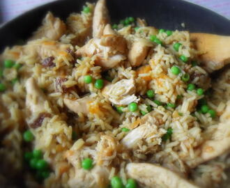 Fruity Chicken and Rice Pilaf