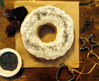lemon poppy seed bundt cake, fudgy christmas brownies and rustic hazelnut and red currant cookies