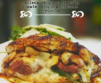 PECHUGA DE POLLO RELLENA (Stuffed chicken)