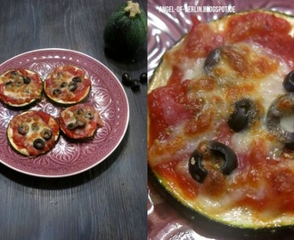 [cooks...] Low Carb Zucchini Pizza