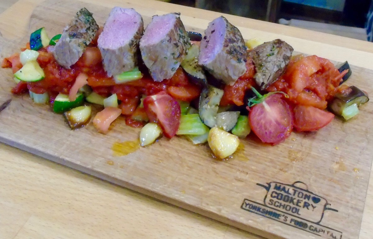 Cooking with tasty Yorkshire lamb in Malton