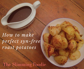 How to make perfect syn-free roast potatoes