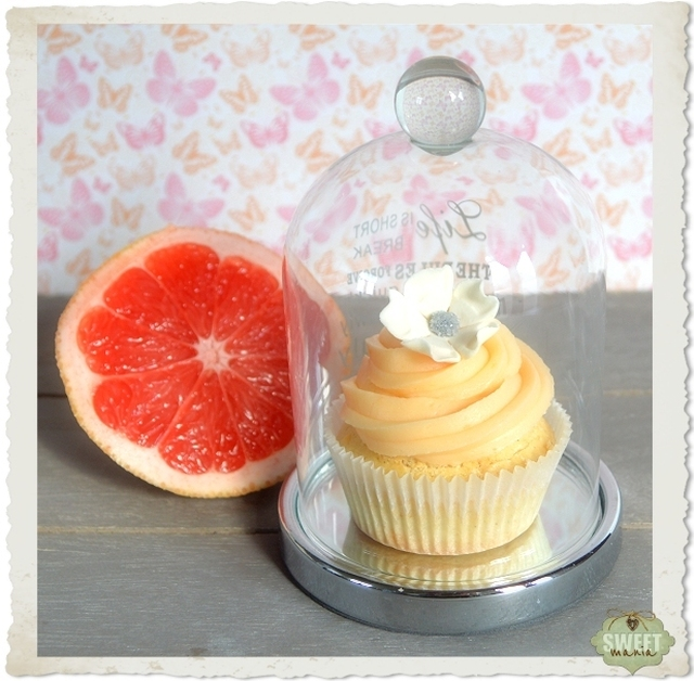 """Hot milk"" cupcakes con pomelo"