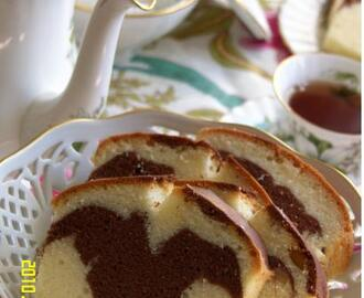 Te times..... with Marble butter cake