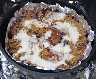 Blueberry Cinnamon Crumble