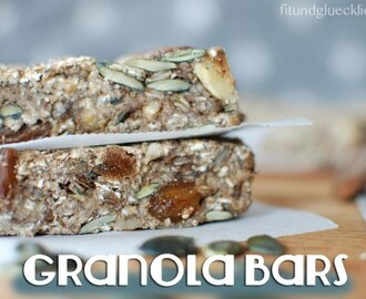 {Clean Eating} Müsliriegel / Granola Bars